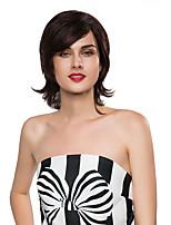 cheveux humains remy style de mode de capless femme gracieuse main liée -top perruques Emmor