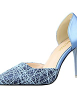 Women's Shoes  Comfort / Pointed Toe / Closed Toe Heels Casual Stiletto Heel OthersBlack / Blue / Pink / White