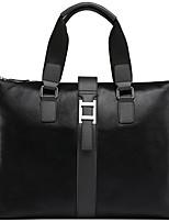X.BNJ Men Briefcase High-end Genuine Leather Men Business Handbag Vintage Top Layer Cowhide Shoulder Bags