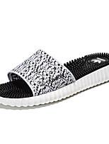 Sapatos Masculinos-Sandálias / Chinelos-Colorido-Sintético / Materiais Customizados-Ar-Livre / Escritório & Trabalho / Social / Casual