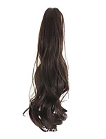 Brown 50CM Length Han Edition Of The New Female Curly Hair Claw(Color Dark Brown)