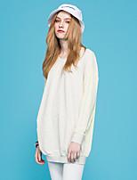 Europrimo® Women's Round Neck Long Sleeve Shirt & Blouse Yellow-EUFCZ104