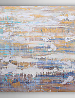Hand Painted Oil Painting Abstract Stagnation and Flow with Stretched Frame 7 Wall Arts®