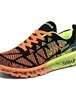 Men's Running Shoes Tulle Blue / Orange