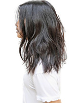 Peruvian Glueless Full Lace Wig Short Bob Wavy Full Lace Human Hair Wig Middle Part Short Bob Cut Wig 130% Density