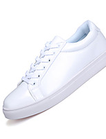 Men's Shoes Casual Leather Fashion Sneakers White