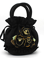 Women-Casual / Event/Party-Canvas-Evening Bag-Black