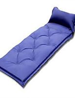 Materassino gonfiabile / Tappetino da campeggio / Tappetino da notte / Materassi ad aria-Anti-pioggia / Ben ventilato- diPVC-Verde / Blu