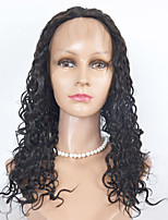 100% Remy Hai Kinky Curl Human Hair Lace Wigs  Lace Front Wigs For Women