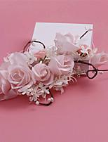 Donne Tessuto Copricapo-Matrimonio / Occasioni speciali / Casual / All'aperto Fiori 1 pezzo