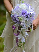 Bouquets(Pourpre,Satin / Soie / Organza)Lis