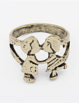 Europe Retro Personalized Ring Childhood