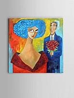 Hand-painted propose Oil Painting Decor with Stretched Frame