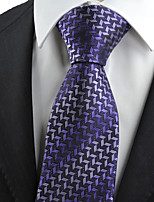 KissTies Men's Diamond Pattern Novelty Microfiber Tie Necktie With Gift Box (5 Colors Available)