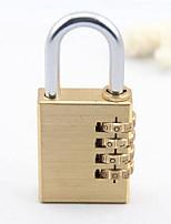 Cadeado para MalaForAcessório de Bagagem Metal Dourada 8.5*3.8*1.3