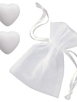 Two Hearts in One Soap Favors, Bridesmaids Gifts, Bridal Shower Favors (each heart soap is 1oz)