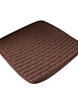 misura universale per auto, camion, SUV o van panno piatto cuscino del sedile auto cuscino del sedile anteriore (1 pezzi set) caffè