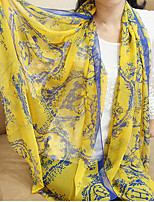 Vintage Carriage Pattern Printed Scarves Sunscreen Shawl Voile Scarves