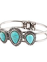 Legering Dames Ronde Armbanden Armbanden Turkoois