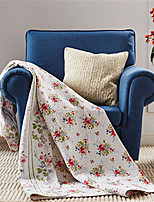 1PC Quilt Full Cotton Euro Floral Pattern 57