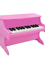 Holz rot / weiß / schwarz / pink Klavier für alle Kinder Musikinstrumente Spielzeug gelegentliche Anlieferung