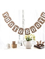 Photo Booth Bunting Banner Rustic Vintage Wedding Photography