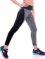 Women Cross - spliced Legging,Polyester Medium