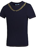 2016 New Arrival Gold Silver Embroidered High Quality Shiny Man Fashion T-Shirt Loose Mens Hiphop T-Shirts