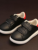 Girls' Shoes Outdoor Comfort Leatherette Fashion Sneakers Black / Green / Red / White / Gold