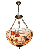 18 inch Retro Tiffany Pendant Lights Shell Shade Living Room Dining Room light Fixture