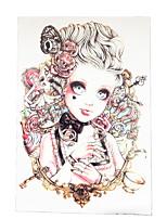 8PCS Fake Waterproof Temporary Tattoo Beauty Belle Style for Women Men Body Art Flower Arm Back Tattoo Sticker Design