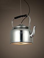 Max 60W Luci Pendenti ,  Retrò Pittura caratteristica for Stile Mini MetalloSalotto / Camera da letto / Sala da pranzo / Cucina / Sala