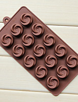 Flowers And Chocolate Molds