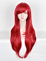 Fashion Wigs Red Color Top Quality Straight Synthetic Wigs