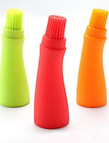 BBQ Baking Tools Control Oil Brushes Food Grade Silicone (Random Color)