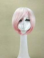 New Arrival Pink  Lolita Wig   Short Straight  Synthetic Hair Wig Heat Resistant Cosplays