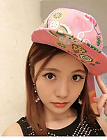 Fashion Flower  Korean Version Of Hip-hop Trend Of Large  Baseball Cap