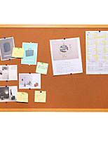 Cork Board / Message Board / Photo Frame, Wooden Wall Bulletin Board Needle