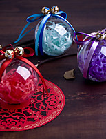 Boîtes à cadeaux / Bocaux à Bonbons et Bouteilles / Boîtes Cadeaux(Lavande / Or / Rose / Rouge / Bleu,Plastique)Thème classique / Thème