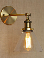 Glass Lampshade Wall Sconces,Traditional/Classic E26/E27 Metal