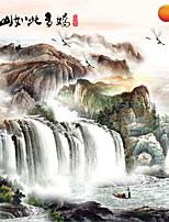 Mural Décoration artistique Papier peint Classique Revêtement,Toile Oui