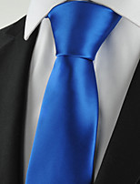 KissTies Men's Solid Pure Color Tie Suit Necktie Formal Wedding Party Holiday With Gift Box (10 Colors Available)