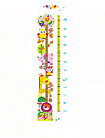 7241 Giraffe Height with Real Kindergarten Children Can Remove Waterproof Decorative Wall Stickers