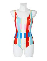 Gorgeous Color Fringe Pattern Collection Digital Print Swimsuit