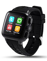 uc08 3g wifi androide del teléfono del reloj inteligente con ayuda de la cámara de 3.0 MP tarjeta SIM monitor de frecuencia cardíaca