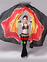 Belly Dance Belly Dance Isis Wings Children's Performance Silk Tie Dye 1 Piece  (more colour)