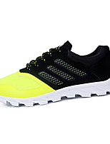 Men's Shoes Outdoor Tulle Fashion Sneakers Black / Green / Orange