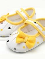 Chaussures bébé-Jaune-Extérieure-Coton-Plates