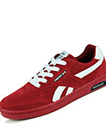 Men's Shoes Athletic Fleece Fashion Sneakers Black / Blue / Red