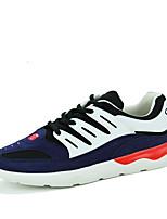 Men's Shoes Athletic Tulle Fashion Sneakers Black / Blue / White